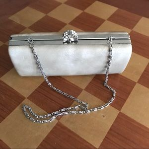 Vintage Jessica McClintock evening bag with chain